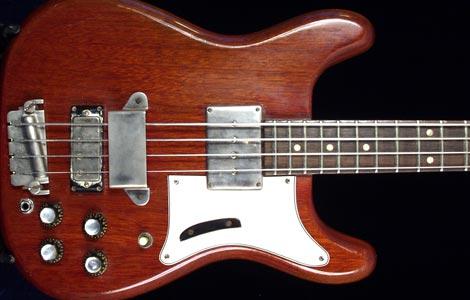 1962 Epiphone Newport Deluxe EBD Bass Guitar