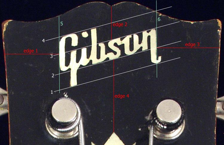 Early 1960s gibson eb bass logo