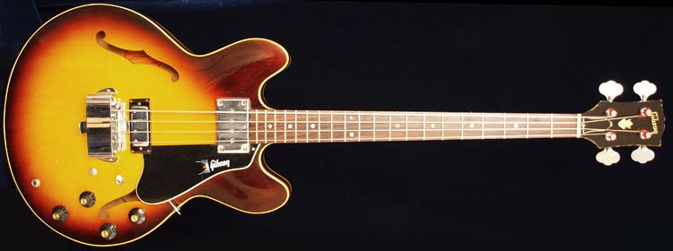 The Gibson EB2 bass guitar >> FlyGuitars