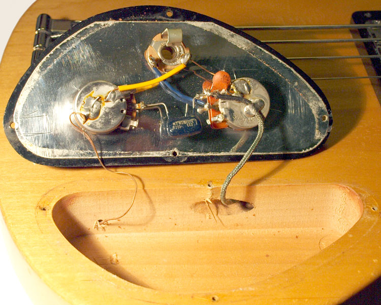 Electric Guitar Volume Control Wiring