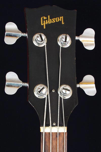 1973 Gibson EB-4L electric bass guitar >> FlyGuitars