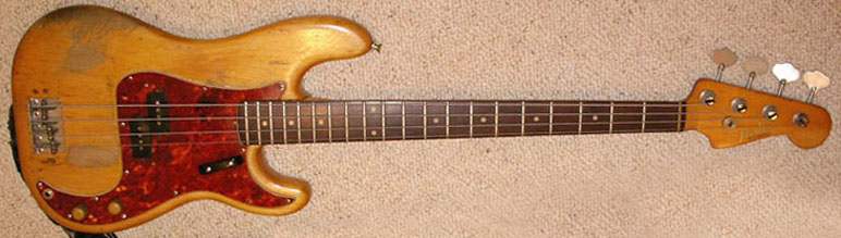 1961 blonde fender precision