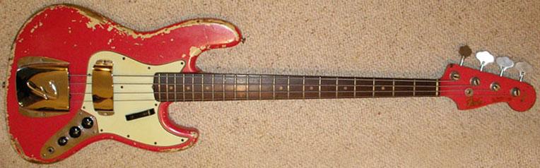 bob daisley interview fender basses Fender Lace Sensor Wiring Diagram 1962 fender jazz bass fiesta red finish