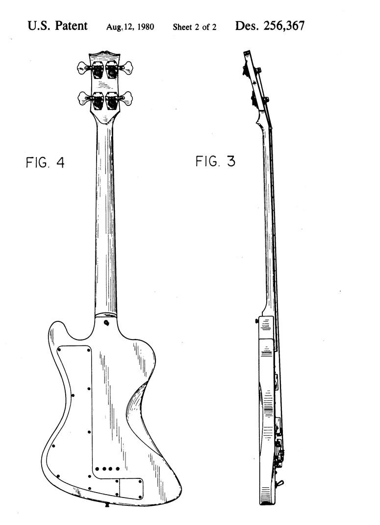 design patent 256 367