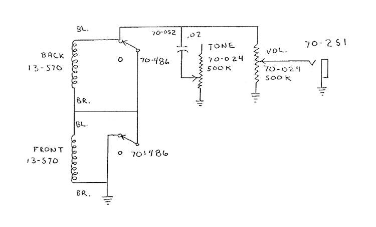 SB300-SB400schematic Gibson Thunderbird Wiring Diagram on probucker pickup, lp humbucker, eb3 bass, heat pump, melody maker, challenger guitar, les paul 50, les paul pro ii, sg guitar,