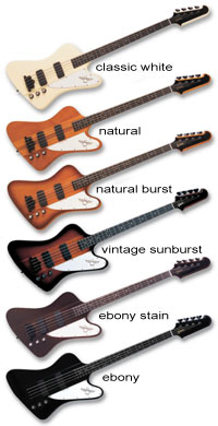1980s Gibson Thunderbird Iv Bass Guitar