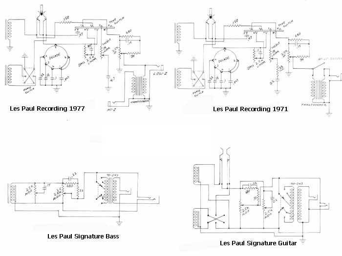 Gibson Bass Guitar Wiring Diagrams