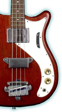 The Epiphone Newport Electric Bass Guitar