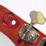 Kluson 538 footprint - from a 1965 Epiphone Newport bass
